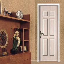 Porte porte porte-MDF, prix de la porte d'intérieur bon marché, porte intérieure mdf