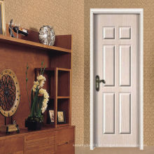 Porta da pele da porta MDF, preço da porta interior barato, porta interior mdf
