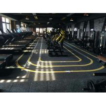 tapis de sol en caoutchouc interlocking gym