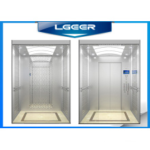 Mirror Etching Stainless Steel Elevator with Good Decoration