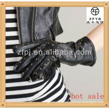 Top sheep leather elegant fashion lady glove