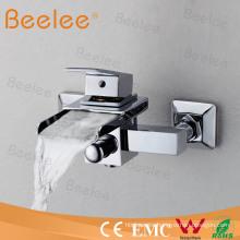 Wall Mount Waterfall Bathroom Shower Faucet Bathtub Faucet Qh0510W