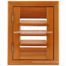 Timber Red Cedar Adjustable Louvre Window Shutters from China