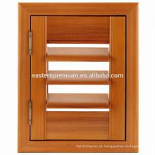 Obturadores ajustáveis da janela do Louvre do cedro vermelho da madeira de China