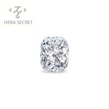 ForeverFlame 2ct G H cushion cut VVS1 diamond CVD CZ Moissanite