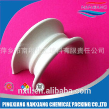 25mm 38mm 50mm 76mm Alumina Ceramic random Packing Intalox Super Saddle Ring In Dehydration Tower