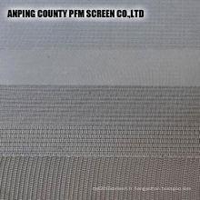 Cartouches filtrantes frittées de treillis métallique d'acier inoxydable de la feuille 304 perforée