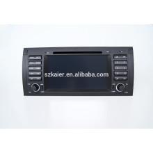 """7""""автомобильный DVD-плеер,фабрика сразу !Четырехъядерный процессор,GPS навигатор,DVD,радио,Bluetooth для БМВ Е39"""