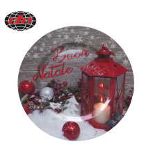 Christmas Decorations Plastic Charger Plate