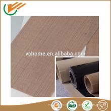 Hecho en fibra de vidrio de PTFE de Jiangsu Tejido de fibra de vidrio recubierto de silicona Paño de fibra de vidrio