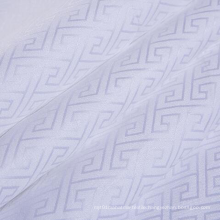 Solid Dyed & Bleached Cotton Jacquard Fabric