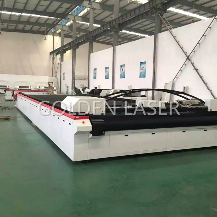 Large Flatbed Laser Cutter for Outdoor Industrial Fabric