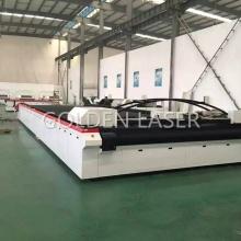 Gran plano láser de corte para tejido Industrial al aire libre