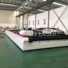 Grande Flatbed Laser Cutter per tessuto industriale all'aperto