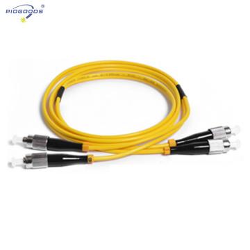 FC / UPC salida de fibra óptica de interior solo modo G652D 2.0mm 3.0mm diámetro fábrica de China proveedor