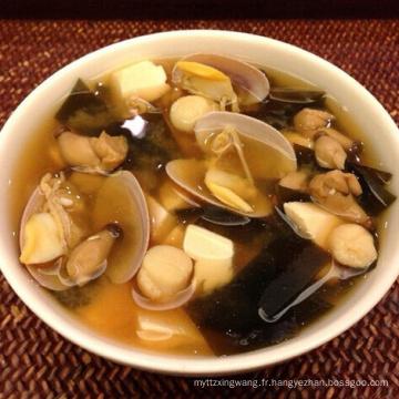 Algue Wakame coupée séchée pour soupe au miso