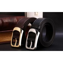 High qualtiy business man luxury leather leather belts