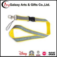Promoción cordones de Material reflectante con la hebilla plástica