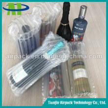 Schützende transparente PET-Luftsäulen-Kissen-Tasche für Waren