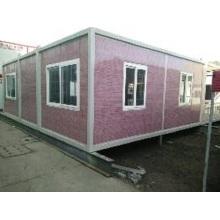 Bewegliches Haus, das in vielen Feldern am meisten benutzt ist