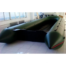 Meilleur bateau 1,2 mm PVC Aluminium plancher gonflable bateau de sauvetage