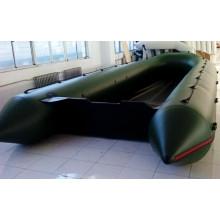Melhor barco 1,2 mm PVC alumínio assoalho inflável barco de resgate