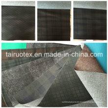 Canapé de 100% polyester tissu de laine