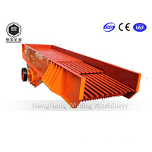 Alimentador vibratorio de alta capacidad para procesamiento de minería