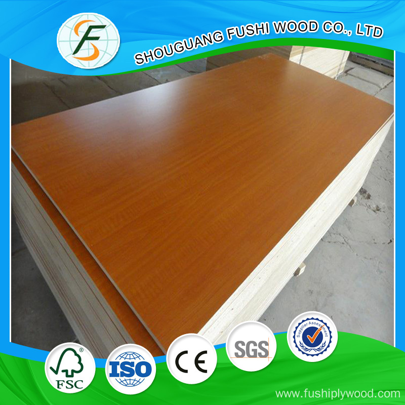China melamine faced particle board manufacturers