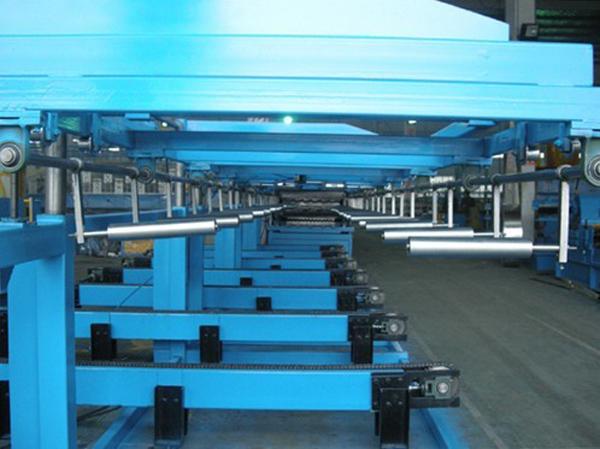 metal deck stacking