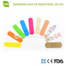 CE FDA ISO Approved Медицинские красочные одноразовые штукатурки первой помощи