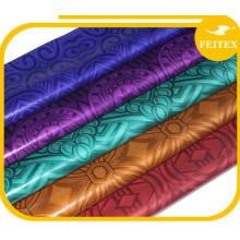 Feitex promoción Damasco Shadda Guinea Brocade suave Bazin Riche ropa de fiesta africana tela barata