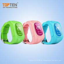 China El reloj con mejores ventas del GPS mira la pulsera del teléfono móvil (WT50-ER)