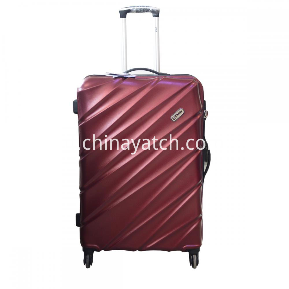 Hot Cheap Lady ABS Trolley Suitcase