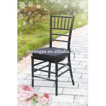 Chiavari chaise noire / chaise tiffany