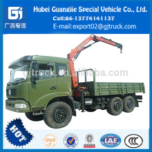 180HP 6x6 camion grue