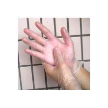 Guantes desechables libres del polvo del vinilo para el grado alimenticio, el grado industrial y el grado médico