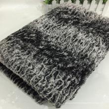 Высокое качество горячей продажи искусственного меха одеяло