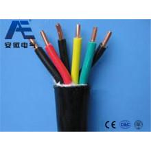 Cable de control resistente a altas temperaturas con fluoroplásticos