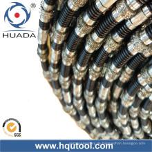 Dry Cutting Diamond Wire sah für Marmorsteinbruch