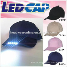 Flashing Light Up Baseball Caps / LED light Caps / LED Hats