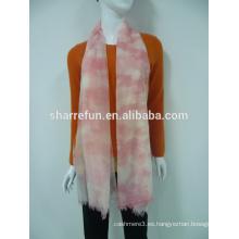 bufanda tejida cachemira impresa moda al por mayor de la fábrica