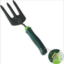 Garden Tools Steel Garden Prong Fork with Shock Resistant Handle for Gardening