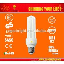 QUENTE! Diodo emissor de luz 3U 12W Warmwhite milho LED Lâmpada 50000H CE qualidade