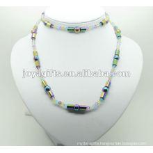Fashion Hematite Rainbow Tube Wrap