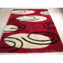 High Density Long Pile Korean Silk Shaggy Carpet for Living Room