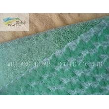 PV плюша ткани для обивки и игрушек