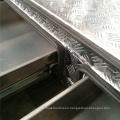 Caja de herramientas para camiones con placa de control de aluminio con cajones Caja de herramientas para camiones con placa de control de aluminio con cajones