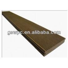 Anti-corrosión wpc Plataforma sólida / wpc suelo de cubierta exterior
