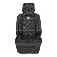 Leatherette Car Seat Cushion Flat Shape Cushion with Shoulder Pad